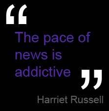 Harriet Russell, equities and markets journalist at Growth Company Investor on Five Minute Abchat