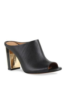 Kay Unger New York Women's Hodden Open-Toe Shootie - Black - 8.5M