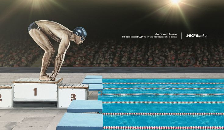 BCP Bank: Swimmer | #ads