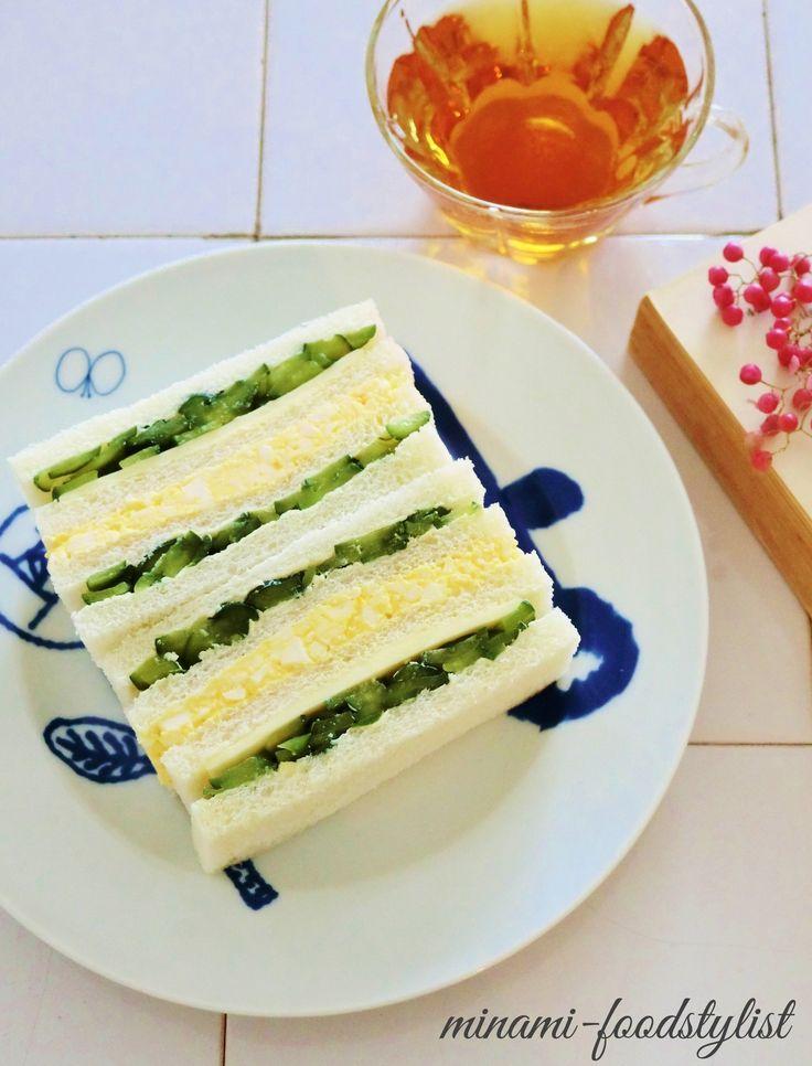 たっぷりきゅうりの卵サンド by 細井 美波 | レシピサイト「Nadia | ナディア」プロの料理を無料で検索