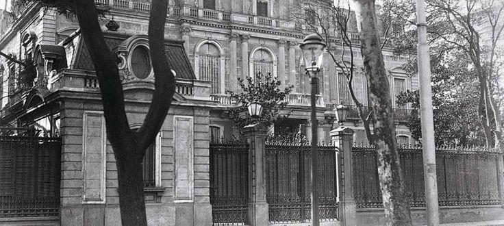 Palacio de don Ramón Calderón . formaba parte del grosso de los palacios más suntuosos, con el de la Remisa y el del Marqués de Salamanca a la cabeza