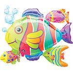Tropische Fische Folienballon 76cm