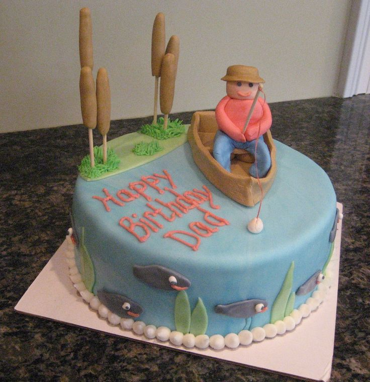 7 Best Images About Fishing Cakes On Pinterest
