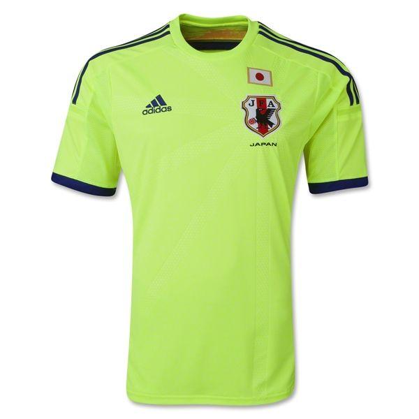 2014 World Cup Japan Away Green Jersey Shirt