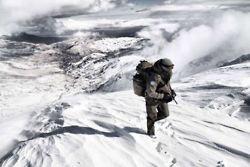 Koud weer training Korps Mariniers