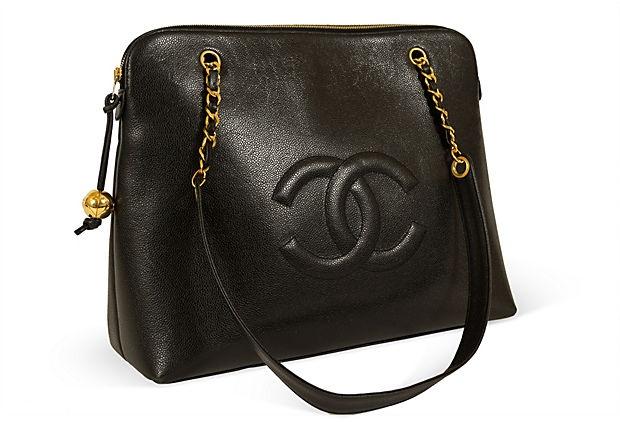 Chanel Caviar Leather Weekender Tote on OneKingsLane.com