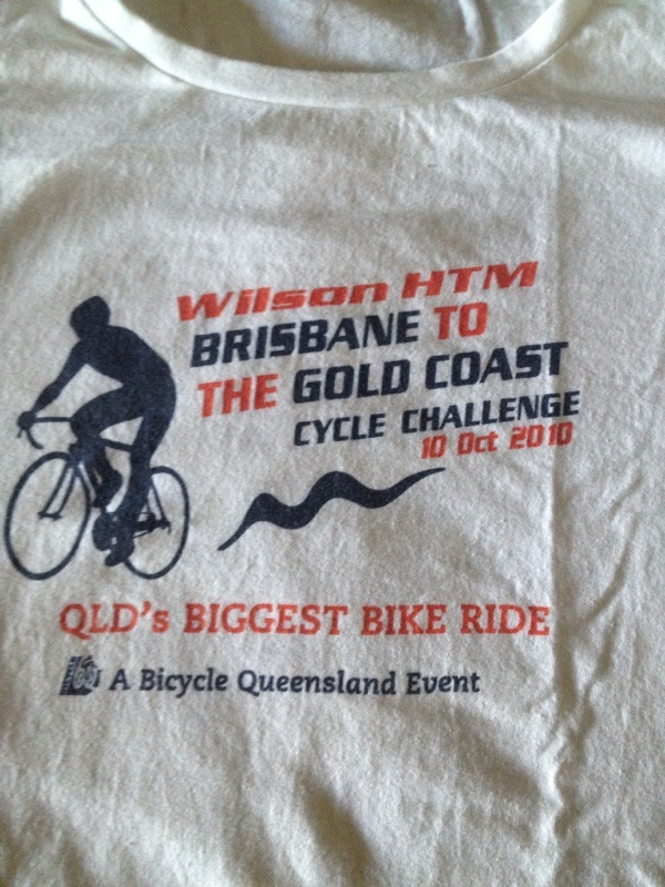 1st 100klm bike ride