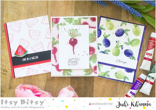 Itsy Bitsy - The Blog place: Easy Watercolor Cards