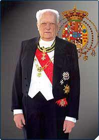 FERDINANDO (1926-2008). CAPO DELLA REAL CASA DAL 1973 AL 2008