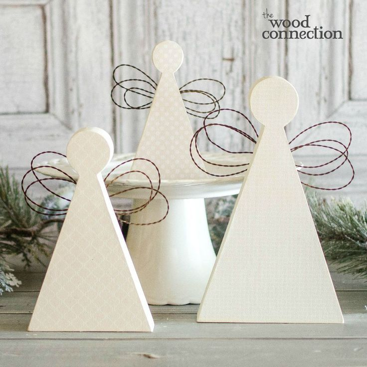 The Wood Connection - Angel Trio, $7.40 (http://thewoodconnection.com/angel-trio/)
