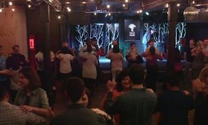 Beginners' classes focus on basic footwork and rhythm; intermediate classes cover more complex patterns