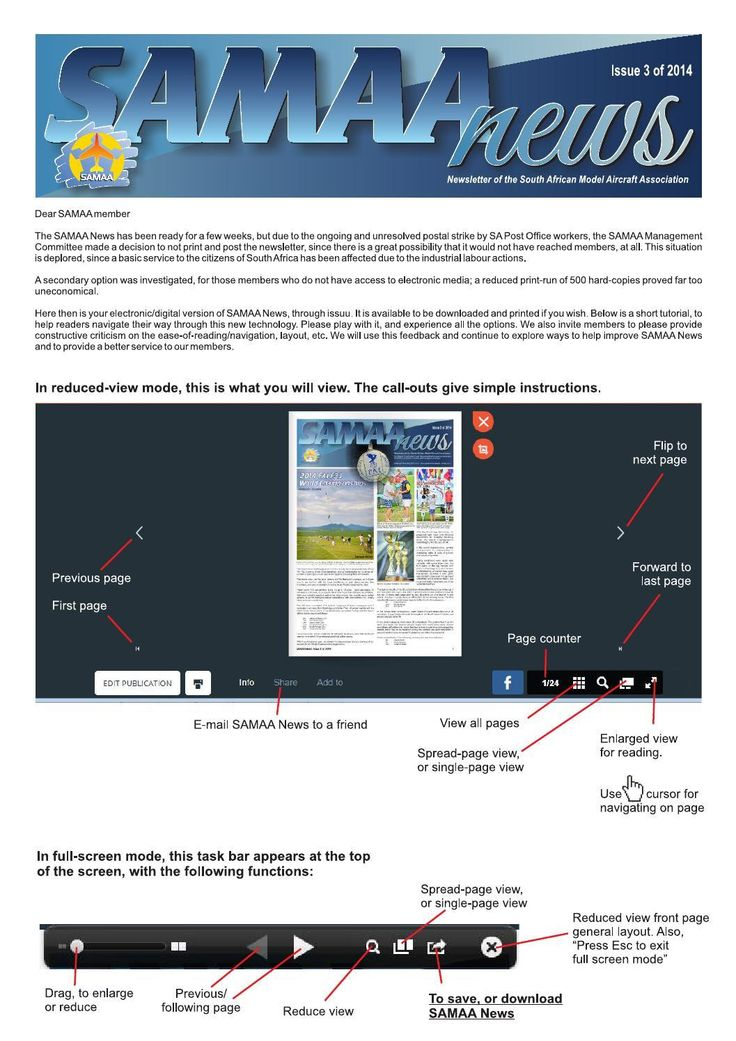 SAMAA News - Issue 3 for 2014 (1 of 25)