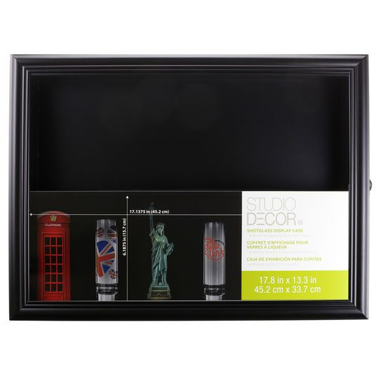 Large Shot Glass Display Case By Studio Decor®