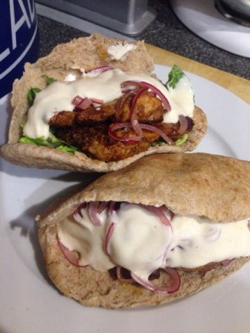 Vicki-Kitchen: Nigellas chicken shawarma (Slimming World friendly)