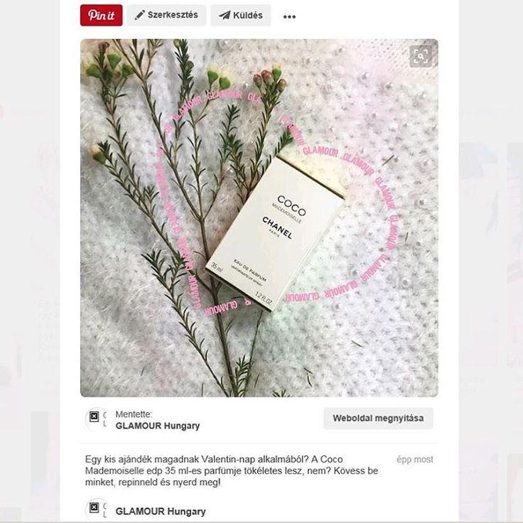 Nyerd meg ezt a szuper Chanel parfümöt! Kövess be minket a pinterest.com/glamourhungary oldalon, repinneld a képet a Love in White boardról es tied lehet az illat! #pinterest #loveinwhite #gift #perfume #fragrance #coco #mademoiselle #mik #iközösség #instahun #instagood #instacool #follow