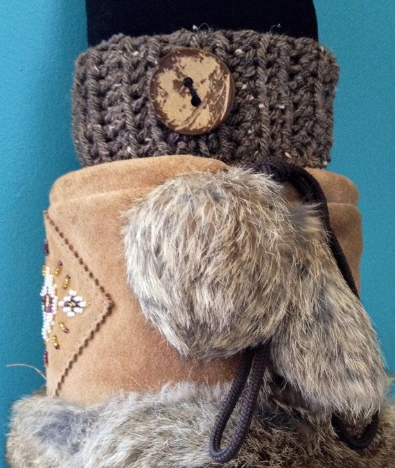 Crochet Ribbed Boot Cuffs Boot Toppers  Speckled by KnotSewKrazy, $24.99