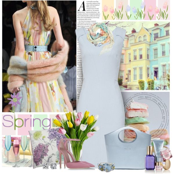 """Spring!"" by justjules2332 on Polyvore"