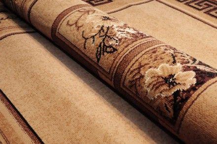 Dywan tradycyjny Classic IV w kolorze brązowym. Elegancki klasyczny dywan z tradycyjnym wzorem