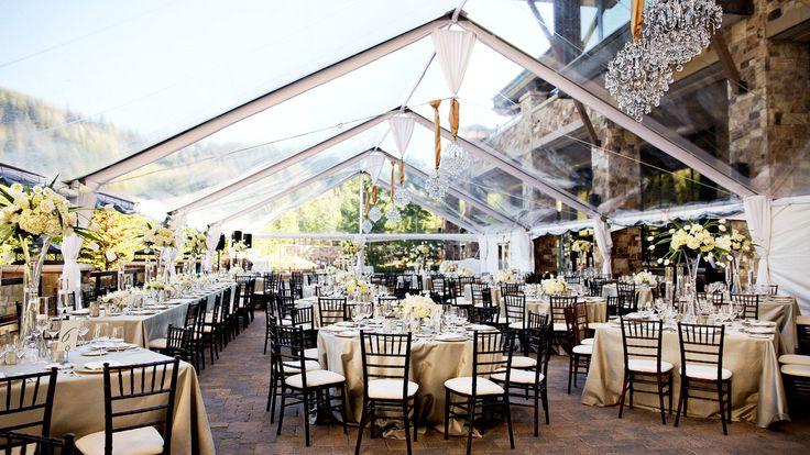 The St. Regis Deer Valley - Wedding Tent