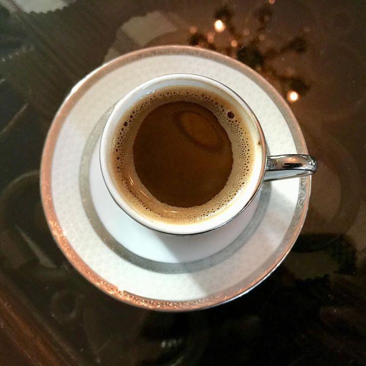Turkish style coffee  boy do I miss having one of these everyday. Especially if theyve added Cardamons.  #jordanianfood @visitjordan #myjordanjourney #latergram