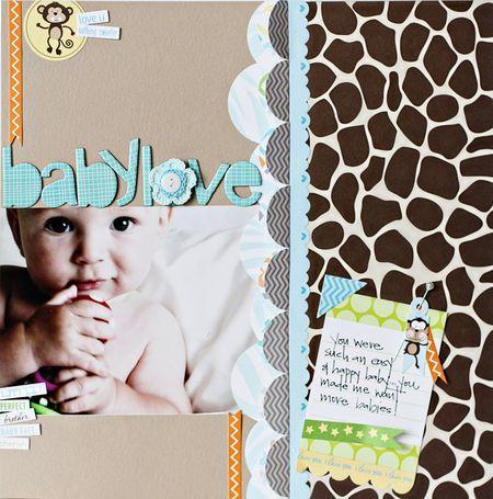 Shannon Tidwell #scrapbook: Scrapbook Ideas, Cute Ideas, Scrapbook Layout, Baby Scrapbook, Baby Layout, Scrapbook Baby, Circles Punch, Baby Boy, Scrapbook Cards Ideas