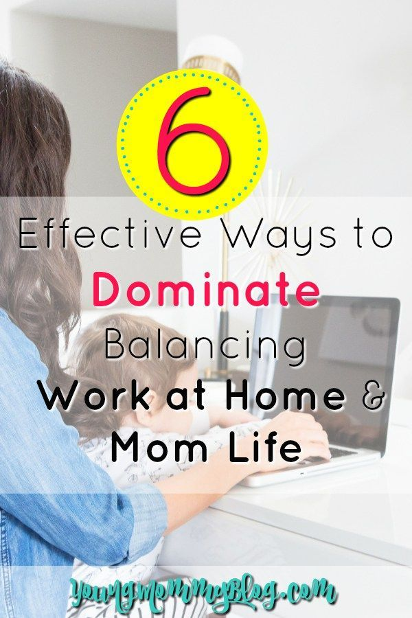 how to balance working at home mom life young mommy blog best rh pinterest com