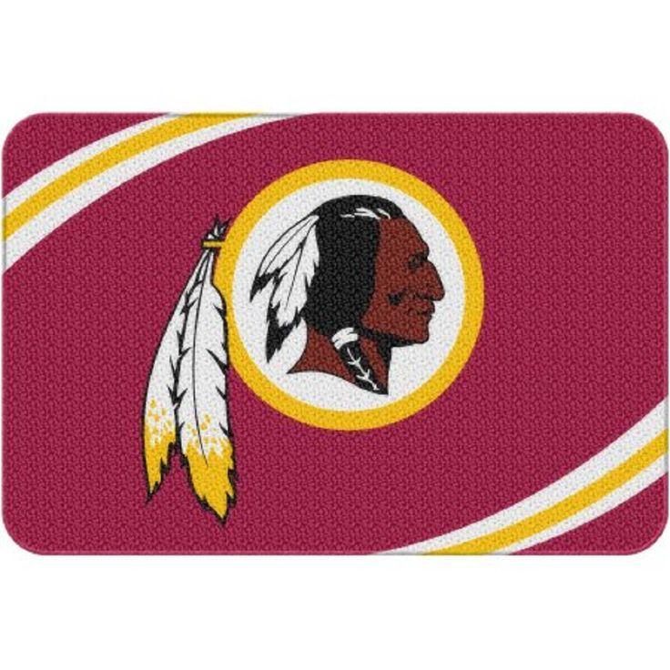"NFL Washington Redskins 20"" x 30"" Round Edge Bath Rug"