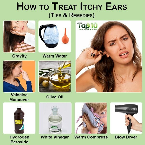 How to Treat Itchy Ears: 10 Tips and Remedies   Top 10 Home