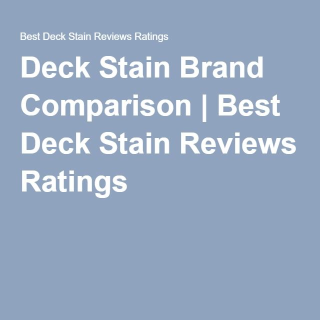 17 best ideas about best deck stain on pinterest fence for Comparison of composite decking brands