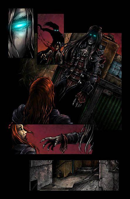 Bloodlust 2. szám, 12. képregényoldal