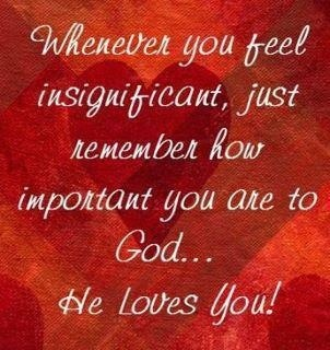 You are important, You are and God on Pinterest