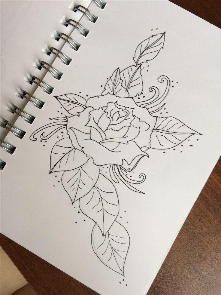 Цветы Рисунок Розы