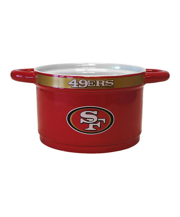 Take a look at this San Francisco 49ers Game Time Bowl on zulily today!