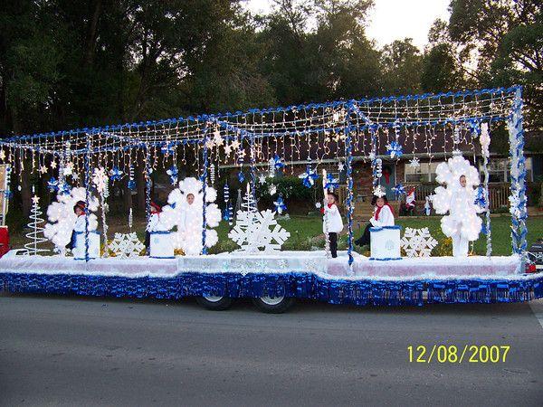 Snowflake Christmas Parade Float