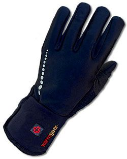 Battery Heated All Purpose Thin Gloves with One-Button Controls, $200. Heat on back of palm and all fingers