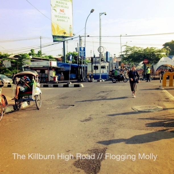 The Killburn High Road // Flogging Molly #monstagram @dwymonster on #instagram