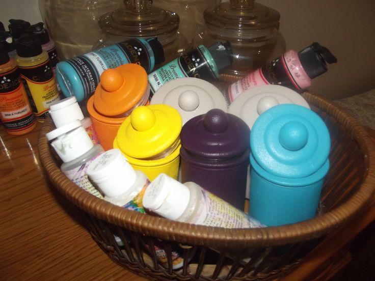 kavanoz boyama,kavanozlarımız süslenmek için bekliyor, istediğiniz desen ve renkte sipariş verebilirsiniz