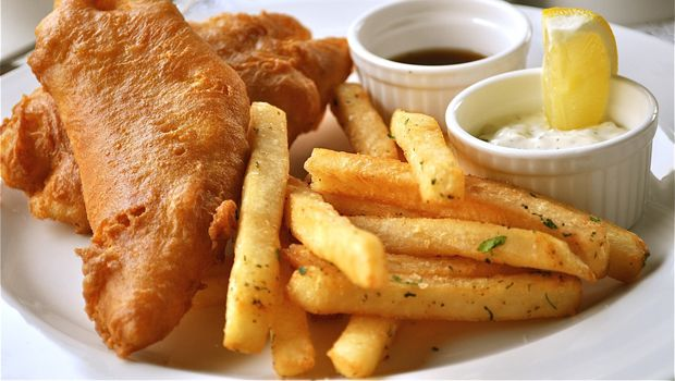 Rick Stein's Fish and Chips with Tartar Sauce Recipe. Rick's tartar i...