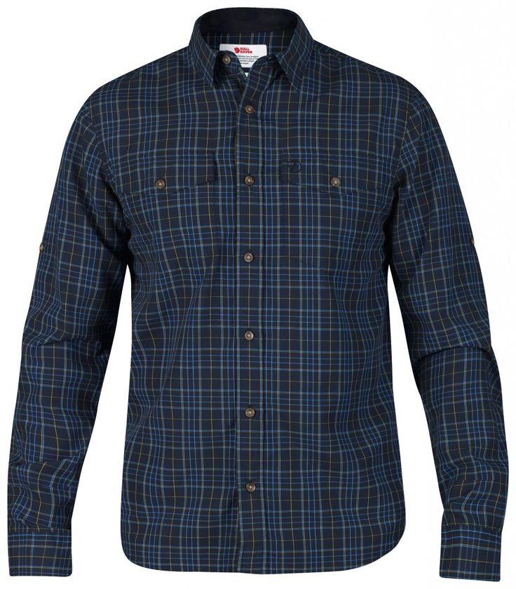 Fjellreven Abisko Cool Shirt LS - Skjorter - Herre