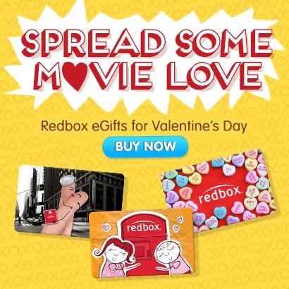@Redbox: Regala diversión con las tarjetas electrónicas de Redbox en este día de San Valentín « Súper Baratísimo o Gratis #Valentinesday #love #cupido