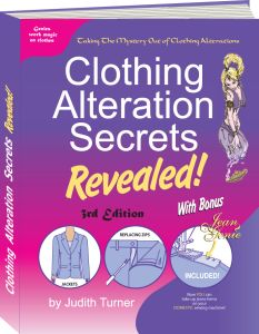 Clothing Alterations Book