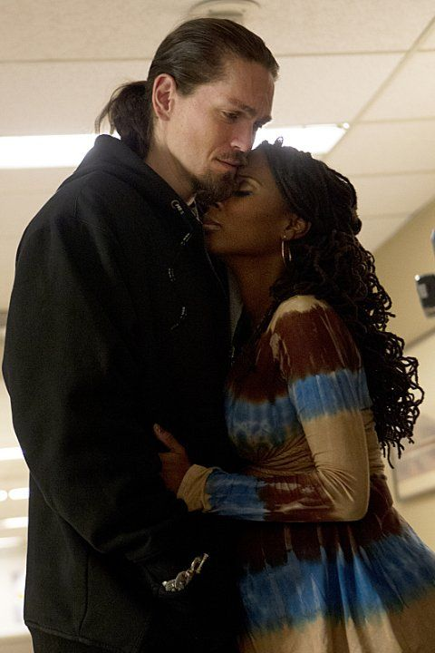 Still of Kevin Ball, Steve Howey and Shanola Hampton in Shameless (2011)