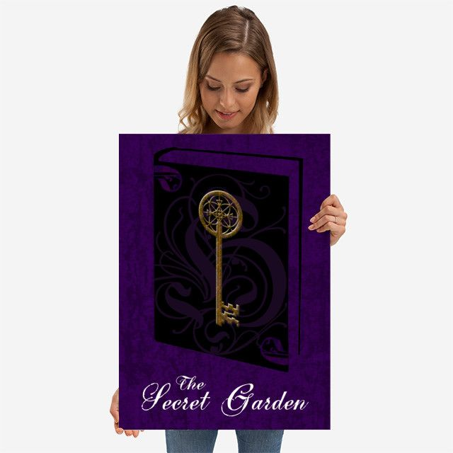 All Star Promo - Use code: ALLSTAR Buy 3-4 get 15% OFF | 5+ 20% OFF . The Secret Garden Book Poster by Emily Pigou. #books #bookworm #booklover #lovebooks #thesecretgarden #thesecretgardenposter #key #purple #author #romantic #fantasy #sale #sales #discount #posters #gifts #giftideas #homegifts #39 #wallart #livingroom #decoration #home #homedecor #cool #awesome #giftsforhim #giftsforher #purple