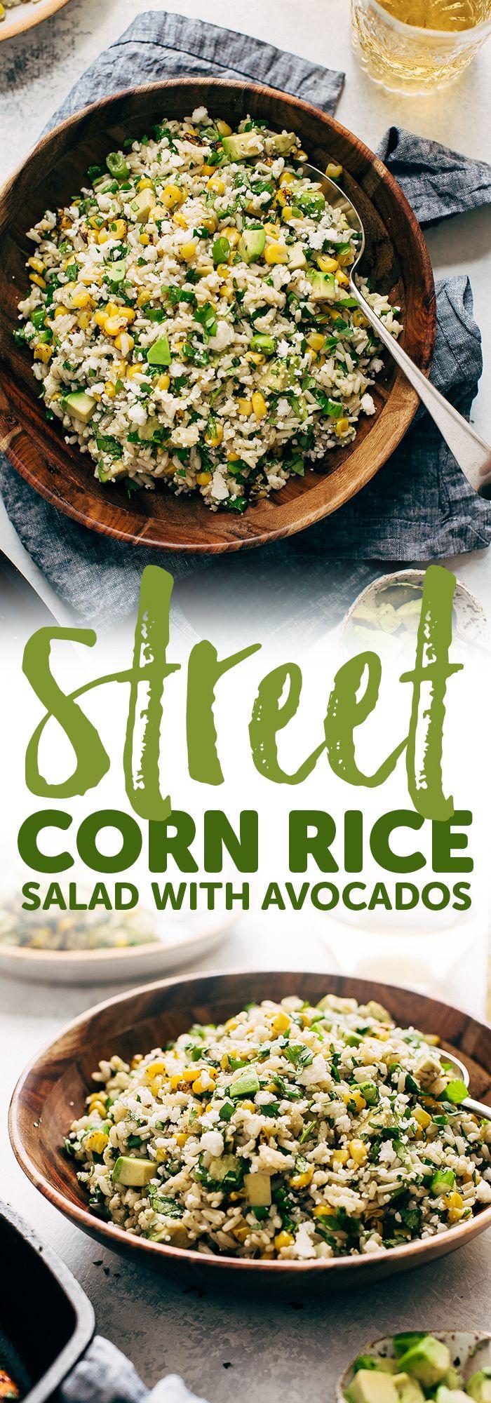 Avocado Rice Salad Recipe