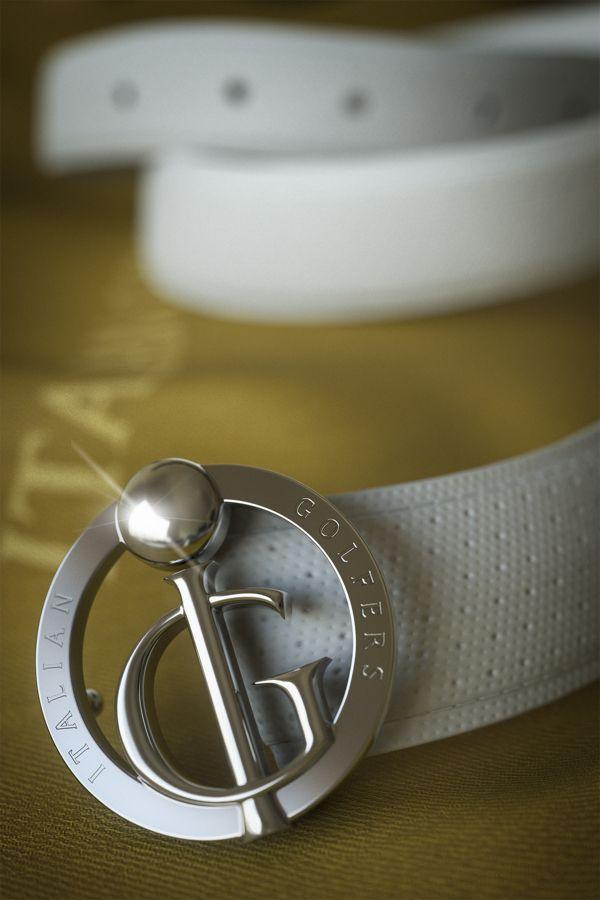 3d Italian Golfers Belt Buckle - Close up by Luigi Lopomo, via Behance