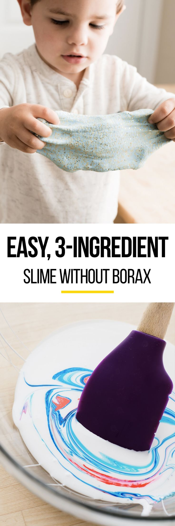 How To Make 3-Ingredient Slime Without Borax — Craft Lessons from The Kitchn