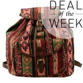 Sacha // Backpack € 39,95 #backpack #aztec #prints #tribal