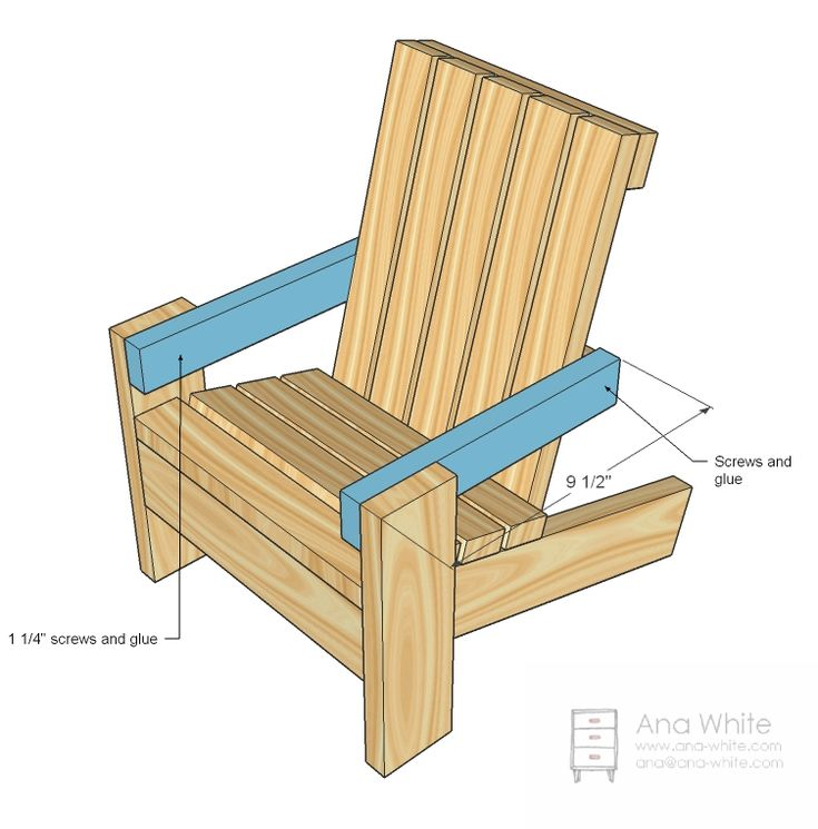Fiona S Doll Adirondack Chair Woodworking In An