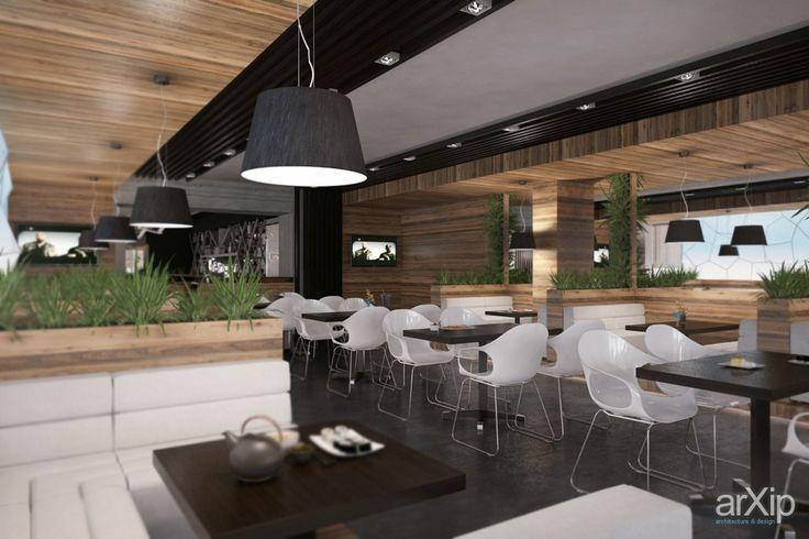 Бар Гранж в Балаклаве от Vitta-group: интерьер, минимализм, open space, ресторан, кафе, бар, 50 - 80 м2 #interiordesign #minimalism #openspace #restaurant #cafeandbar #50_80m2 arXip.com