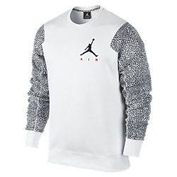 Jordan Elephant Fleece Crew Men's Sweatshirt. Nike Store